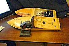 2 Traxxas Villain Rc Boats, 1/12 scale, Electric Twin Prop, Twin Motor, Outdrive