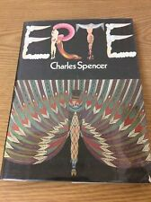 ERTE by Charles Spencer 1970 1st Edition Hardcover Illustrated Book
