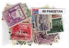 Pakistan 50 timbres différents
