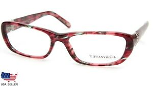 NEW TIFFANY & Co. TF 2069-B 8146 PINK TURQUOISE EYEGLASSES 53-16-135 B29mm Italy