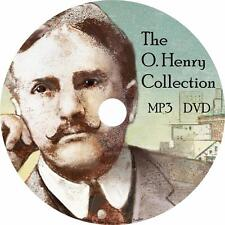 O. Henry Audio Book Collection in English Unabridged on 1 MP3 DVD Free Shipping