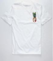 New Nike Mens SB Dri-Fit Pineapple Bird T-Shirt White LIMITED EDITION Size M L🍍