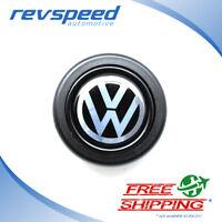 ELETTRO Steering Wheel Horn Button for MOMO OMP With VW Volkswagen Logo Emblem
