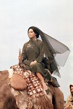 Ava Gardner 55 Days At Peking 11x17 Mini Poster Astride Elephant