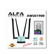 ALFA AWUS1900 WiFi 802.11ac Long Range USB Adapter