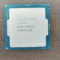 Intel Xeon E-2144G 3.6GHz 4Core/8Thread 71W 8M LGA1200 CPU Processor 2124 2134