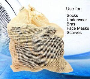 Laundry Net Wash Bag Bra Socks Underwear Reusable Eco Friendly Plastic Free