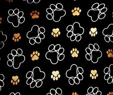 PAW PRINTS   ~ COMPUTER MOUSE PAD  9 x 7