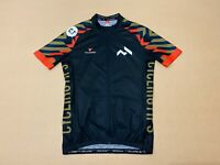 Cuore Cycling Jersey Mens ~ Size Small ~ Great Cond Short Sleeves Full Zip Up