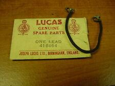NOS Lucas Distributor Lead Alfa Romeo Austin A30 A40 Jowett Sunbeam Alpine 90