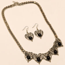 Onyx Necklace Jewelry Special Occasion Black Onyx Necklaces Earring 925 Silver