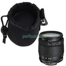 Small Neoprene Waterproof Camera Lens Pouch Case Bag for DSLR Nikon Sony Canon