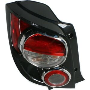 Halogen Tail Light For 2012-16 Chevrolet Sonic Hatchback Left Clear/Red w/Bulbs