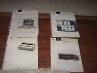 Lot of 4 Apple IIGS Manuals