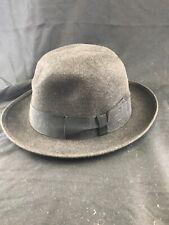 2401d550b3174 Vintage Borsalino Western Hat Size 4 1 2 KG RR11