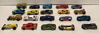 Lot of 20 Hot Wheels Die-cast Cars