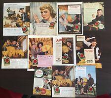 11 niesamowitych reklam Lucky Strike z gazet - lata 50/60