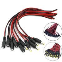 10/20x DC Hohlstecker oder Buchse 5,5 x 2,1 mit Anschlu?kabel Steckverbinder DE