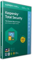 Kaspersky Total Security 2019 for 1 PC / Devices 6 months Download Key Emailed