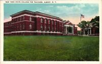 Vintage Postcard - Un-Posted State College For Teachers Albany New York NY #4248