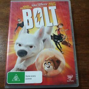 Bolt Disney DVD R4 Like New! FREE POST
