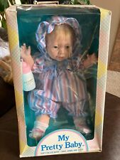 Uneeda My Pretty Baby Doll Vintage 18 inches tall Rare