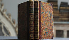 Antique Rare Old Book Set French Estate Memories Of The Count Of Grammont 1812