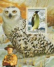 Benin Owls Postal Stamps