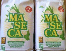 2 Maseca Instant Corn Masa Flour 2.2lbs 100% MEXICAN Gluten Free