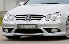 Rieger Front alerón enfoque para Mercedes Benz CLK w209 Coupe/Cabrio hasta Facelift