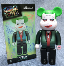 Medicom Be@rbrick DC Comics Batman 400% Joker Suicide Squad Bearbrick Figure Toy