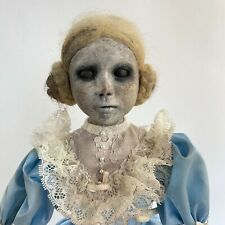 Vintage Creepy Doll Constance The Zombie Ghost Girl Horror Haunted House Prop