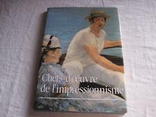 Livre Chefs-d'oeuvre de l'impressionnisme  L. Madeline  Scopic 1990