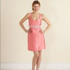 Vineyard Vines Bouquet Dress Size 10 Bermuda Pink Tea Dress Cocktail Dress Silk