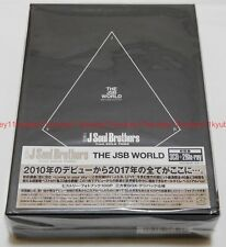 New Sandaime J Soul Brothers from EXILE TRIBE THE JSB WORLD 3 CD 2 Blu-ray Japan