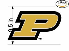 Purdue University Boilermakers 5 2 Stickers 9.5 inches Sticker Decal