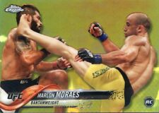 2018 TOPPS UFC CHROME REFRACTOR  DEBUT ROOKIE RC MARLONMORAES #93