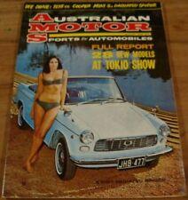 1966.AMS.MOTOR Sport & Auto.1275 MINI-COOPER S Road TEST.VW.Daihatsu SPIDER.