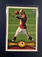 2012 Topps # 340 ROBERT GRIFFIN III Rookie Card RC Redskins Browns Ravens !