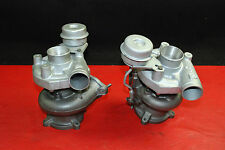 Porsche 911 996 Turbo Charger Turbocharger Triple K KKK K24 Pair Left Right OEM