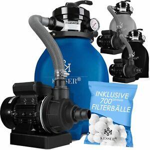 KESSER® Sandfilteranlage Filterkessel Sandfilter für Pool pumpe Schwimmbadpumpe
