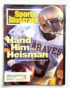 Steve McNair Alcorn State SI Sports Illustrated Sept. 1994