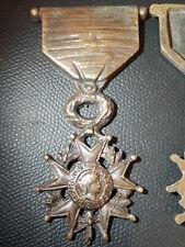 T1) Médaille bronze Légion d'honneur pour monument french medal