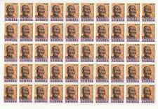 Zambia, Postage Stamp, #426 Mint NH Sheets, 1987, JFZ