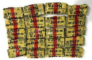 20 Pieces Necco Mary Jane ORIGINAL Candy Molasses Peanut Butter Chews