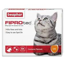 Beaphar FIPROtec Spot-On Cat Treatment (14367E) - 6 Pipettes