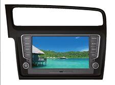 """Golf VII Media Station TFT-LCD Black Deckless Navigation DVD Receiver panel 8"""""""
