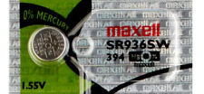 1 x Maxell 394 Watch Batteries, SR936SW Battery | Shipped from USA