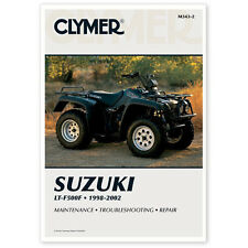 SUZUKI LT500 500 4X4 QUAD RUNNER REPAIR MANUAL 98-02, M343