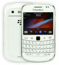 BlackBerry Bold 9900 Débloqué 3 G SIM-Wi-Fi gratuite 5MP QWERTZ Téléphone Portable-Blanc